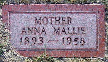 MALLIE, ANNA - Linn County, Iowa | ANNA MALLIE