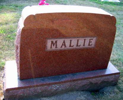 MALLIE, FAMILY STONE - Linn County, Iowa | FAMILY STONE MALLIE