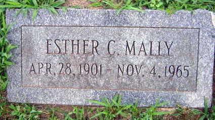 MALLY, ESTER C. - Linn County, Iowa   ESTER C. MALLY