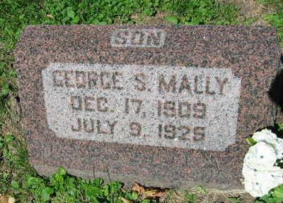 MALLY, GEORGE S. - Linn County, Iowa | GEORGE S. MALLY