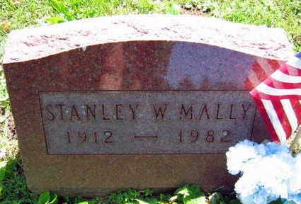 MALLY, STANLEY W. - Linn County, Iowa   STANLEY W. MALLY