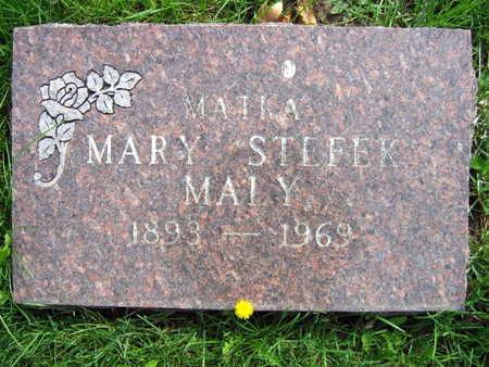 STEFEK MALY, MARY - Linn County, Iowa | MARY STEFEK MALY