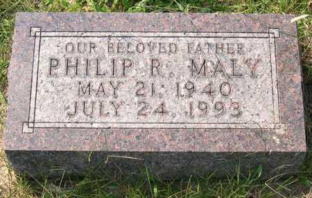 MALY, PHILIP R. - Linn County, Iowa | PHILIP R. MALY