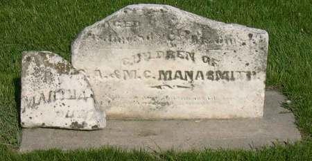 MANASMITH, CHILDREN - Linn County, Iowa   CHILDREN MANASMITH