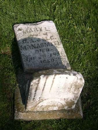 MANASMITH, MARY L. - Linn County, Iowa | MARY L. MANASMITH