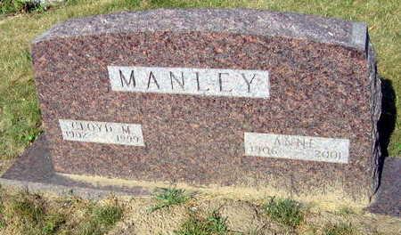 MANLEY, CLOYD M. - Linn County, Iowa   CLOYD M. MANLEY