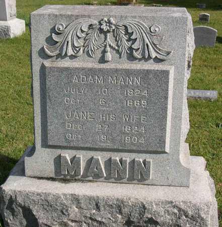 MANN, JANE - Linn County, Iowa | JANE MANN