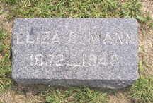 MANN, ELIZA C. - Linn County, Iowa | ELIZA C. MANN