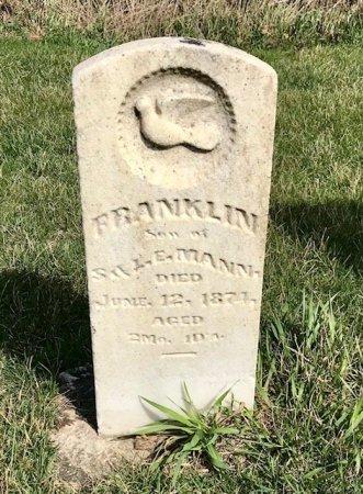 MANN, FRANKLIN - Linn County, Iowa | FRANKLIN MANN