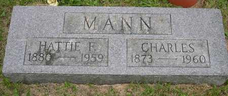MANN, HATTIE F. - Linn County, Iowa | HATTIE F. MANN