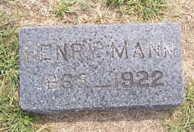 MANN, HENRY - Linn County, Iowa | HENRY MANN