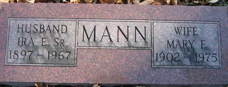 MANN, MARY E. - Linn County, Iowa | MARY E. MANN
