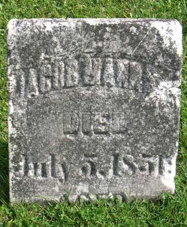 MANN, JACOB, SR. - Linn County, Iowa | JACOB, SR. MANN