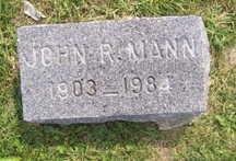 MANN, JOHN RAYMOND - Linn County, Iowa | JOHN RAYMOND MANN