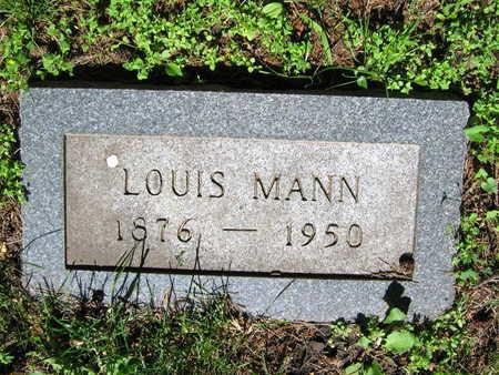 MANN, LOUIS - Linn County, Iowa | LOUIS MANN