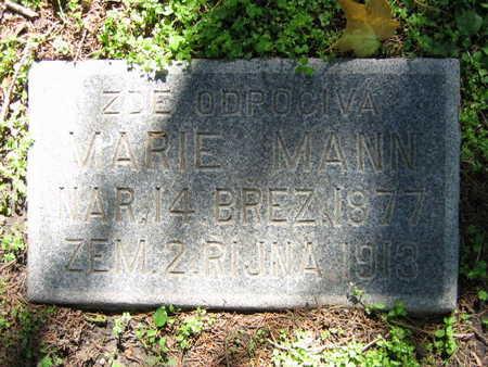 MANN, MARIE - Linn County, Iowa | MARIE MANN