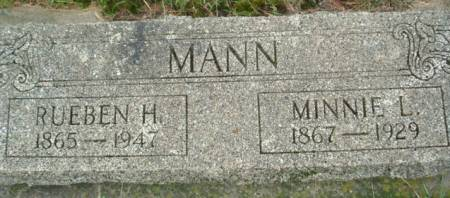 MANN, MINNIE L. - Linn County, Iowa | MINNIE L. MANN