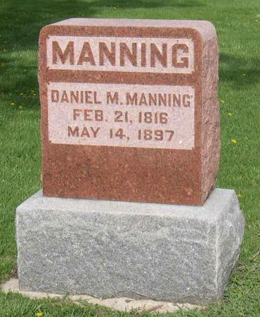 MANNING, DANIEL M. - Linn County, Iowa | DANIEL M. MANNING