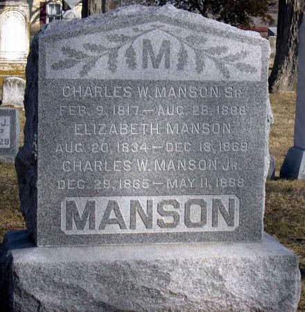MANSON, CHARLES W., JR - Linn County, Iowa | CHARLES W., JR MANSON