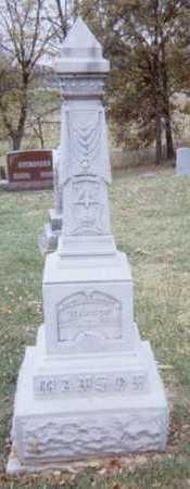 MANSON, REV. ALBERT - Linn County, Iowa | REV. ALBERT MANSON