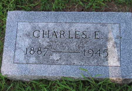 MANVILLE, CHARLES E. - Linn County, Iowa   CHARLES E. MANVILLE