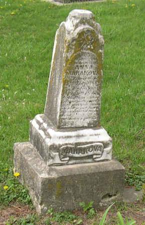 MARAKOVA, ANNA - Linn County, Iowa | ANNA MARAKOVA