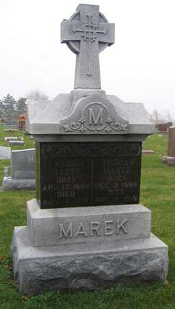 MAREK, ANTONIA - Linn County, Iowa   ANTONIA MAREK