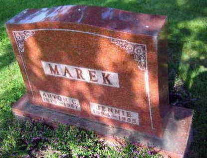 MAREK, ANTON C. - Linn County, Iowa | ANTON C. MAREK