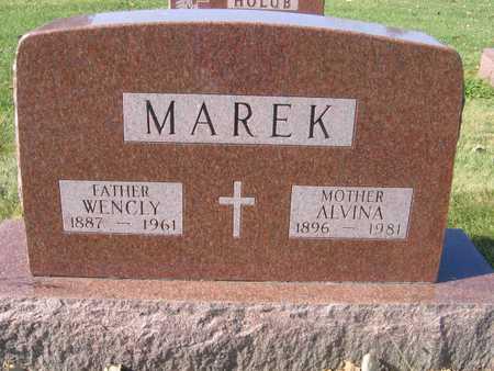 MAREK, ALVINA - Linn County, Iowa | ALVINA MAREK
