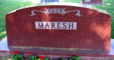 MARESH, FAMILY STONE - Linn County, Iowa | FAMILY STONE MARESH