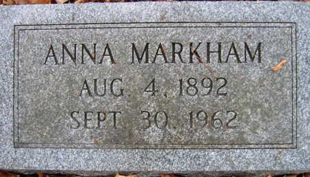 MARKHAM, ANNA - Linn County, Iowa   ANNA MARKHAM