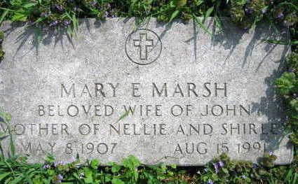 MARSH, MARY E. - Linn County, Iowa | MARY E. MARSH