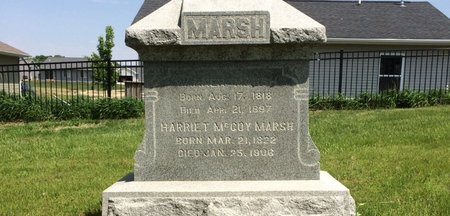 MCCOY MARSH, HARRIET - Linn County, Iowa | HARRIET MCCOY MARSH