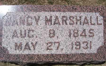MARSHALL, NANCY - Linn County, Iowa | NANCY MARSHALL