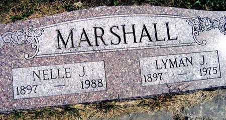 MARSHALL, LYMAN J. - Linn County, Iowa | LYMAN J. MARSHALL