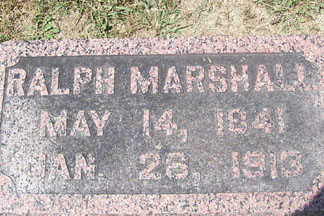 MARSHALL, RALPH - Linn County, Iowa   RALPH MARSHALL