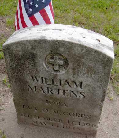 MARTENS, WILLIAM - Linn County, Iowa | WILLIAM MARTENS