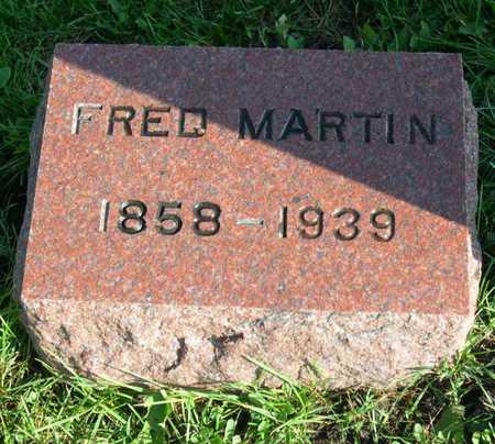 MARTIN, FRED - Linn County, Iowa | FRED MARTIN