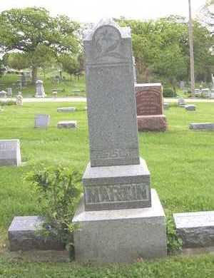 MARTIN, FAMILY STONE - Linn County, Iowa   FAMILY STONE MARTIN