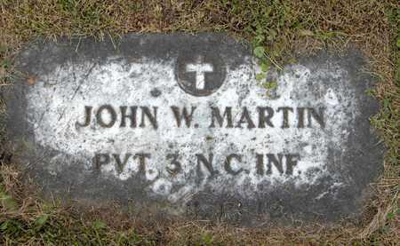MARTIN, JOHN W. - Linn County, Iowa | JOHN W. MARTIN