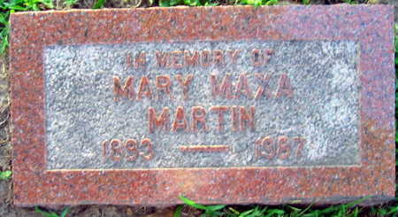 MARTIN, MARY - Linn County, Iowa | MARY MARTIN