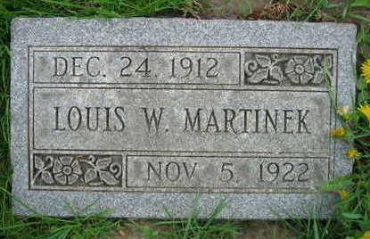 MARTINEK, LOUIS W. - Linn County, Iowa | LOUIS W. MARTINEK