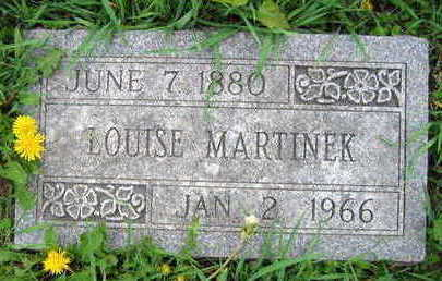 MARTINEK, LOUISE - Linn County, Iowa | LOUISE MARTINEK