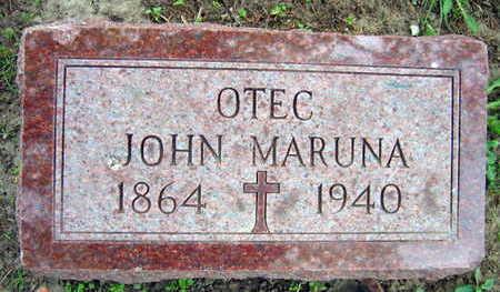 MARUNA, JOHN - Linn County, Iowa | JOHN MARUNA