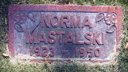 MASTALSKI, NORMA - Linn County, Iowa   NORMA MASTALSKI