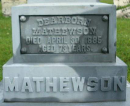 MATHEWSON, DEARBORN - Linn County, Iowa | DEARBORN MATHEWSON