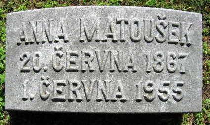 MATOUSEK, ANNA - Linn County, Iowa | ANNA MATOUSEK