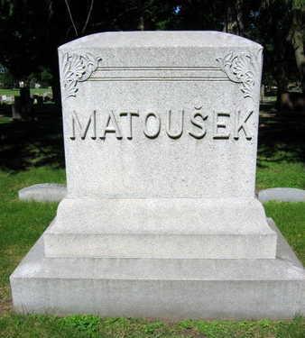 MATOUSEK, FAMILY STONE - Linn County, Iowa | FAMILY STONE MATOUSEK