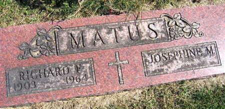 MATUS, RICHARD F. - Linn County, Iowa | RICHARD F. MATUS