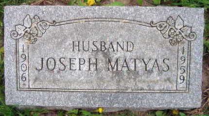 MATYAS, JOSEPH - Linn County, Iowa | JOSEPH MATYAS